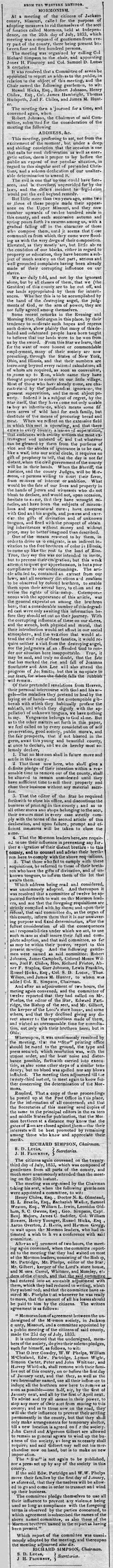 Western Monitor August 2, 1833